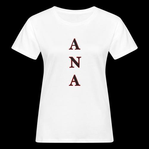 ANA - Camiseta ecológica mujer