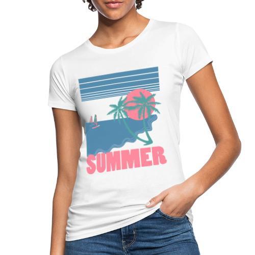 summer - Camiseta ecológica mujer