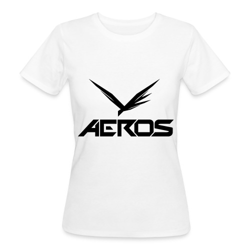 Aeros LOGO 2016 final - Vrouwen Bio-T-shirt
