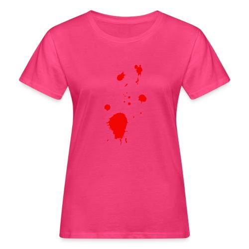 blut - Frauen Bio-T-Shirt