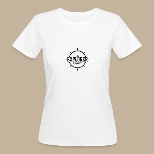 Black TEO Logo - Women's Organic T-Shirt