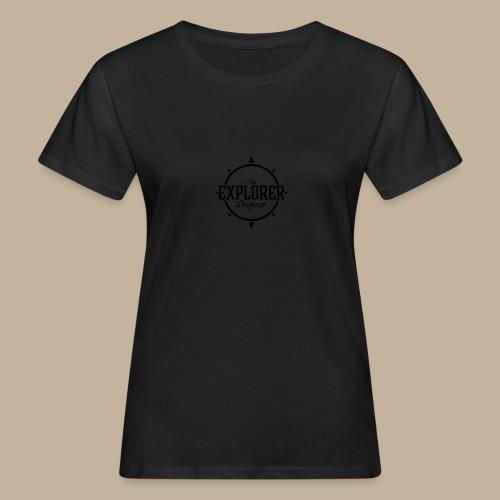 Black TEO Logo - Women's Organic T-Shirt