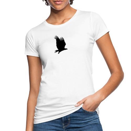 Tirolerbergluft pur (großer Adler) - Frauen Bio-T-Shirt