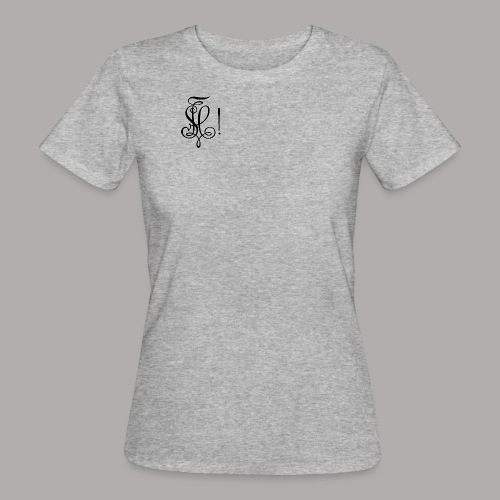 Zirkel, schwarz (vorne) Zirkel, schwarz (hinten) - Frauen Bio-T-Shirt