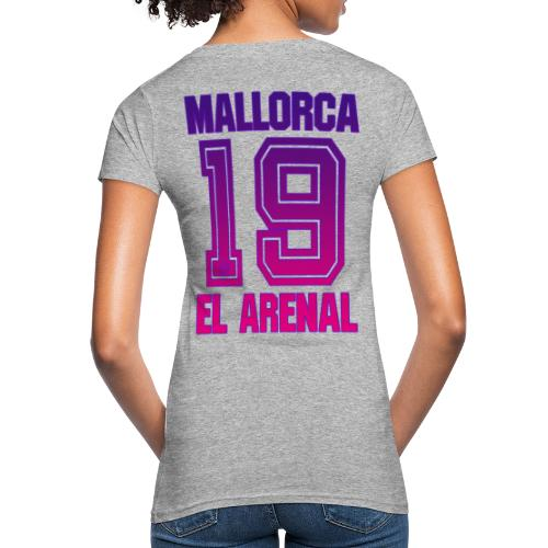MALLORCA Shirt 2019 - Malle Shirts Damen Frauen 19 - Vrouwen Bio-T-shirt