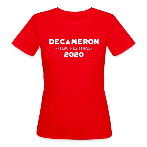 DECAMERON Film Festival 2020 (FRONT & BACK) - Women's Organic T-Shirt
