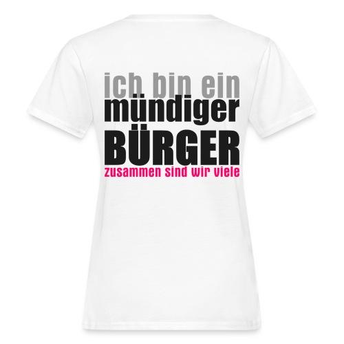 muendiger_buerger - Frauen Bio-T-Shirt