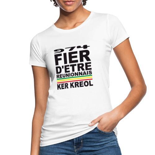 974 ker kreol fier et culture - T-shirt bio Femme