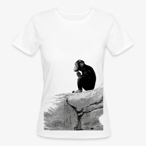 Music Monkey - Women's Organic T-Shirt