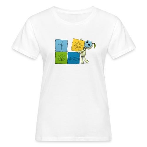 wuerfel - Frauen Bio-T-Shirt