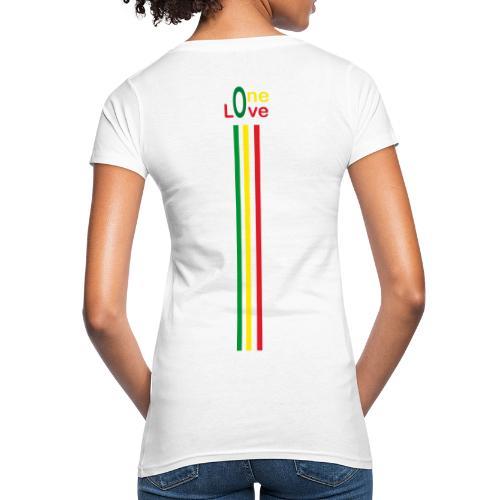 One love Rastafari - T-shirt bio Femme