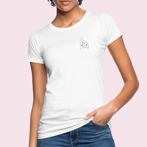 Signorina con smalto - T-shirt ecologica da donna