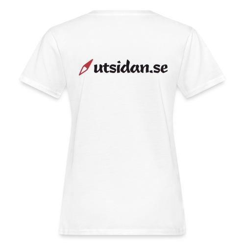 Utsidan logotyp - Ekologisk T-shirt dam