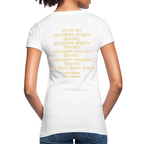 Om Sarvesham - T-shirt ecologica da donna