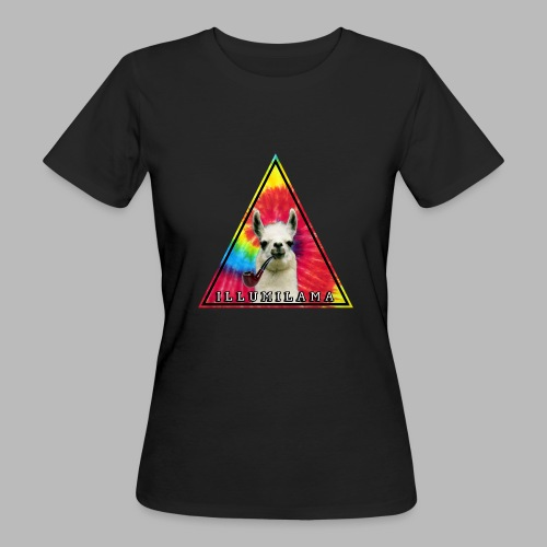 Illumilama logo T-shirt - Women's Organic T-Shirt