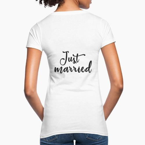 Just married - Women's Organic T-Shirt