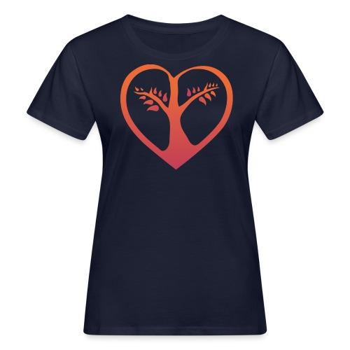 chooselove qu 4c symbol png - Frauen Bio-T-Shirt