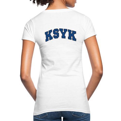 COLLEGE (BLACK) - Naisten luonnonmukainen t-paita
