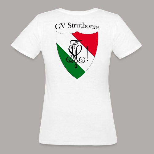 Wappen Struthonia beschriftet - Frauen Bio-T-Shirt