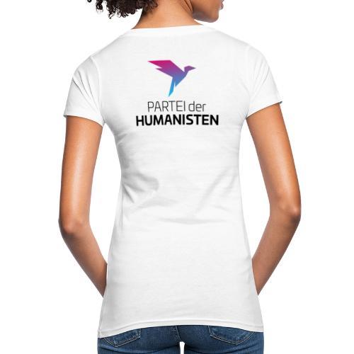 Statement Logo beidseitig - Frauen Bio-T-Shirt