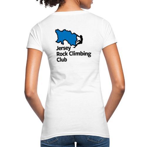 Club Logo - Stacked [Black] - Women's Organic T-Shirt
