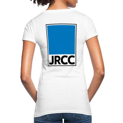 Bloc Logo - Stacked [Black] - Women's Organic T-Shirt