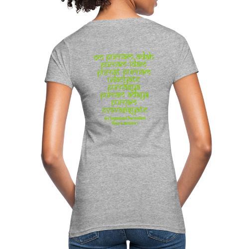 Om Purnamadah - T-shirt ecologica da donna