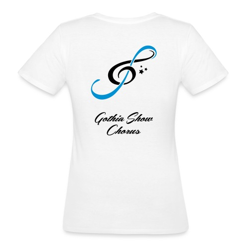 GothiaShowChorus LOGGO Blå svart - Ekologisk T-shirt dam