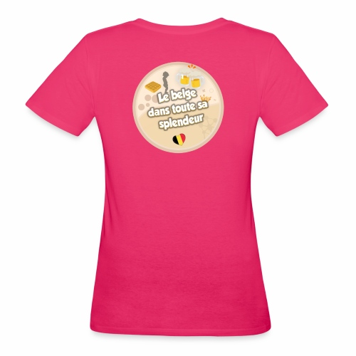logo Le belge - T-shirt bio Femme
