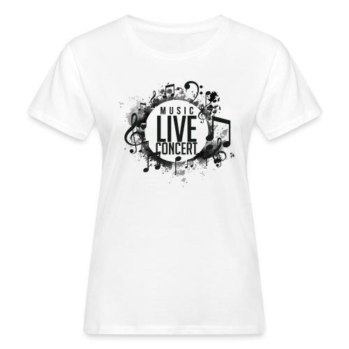 musica - Camiseta ecológica mujer
