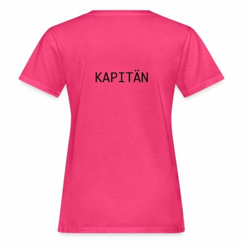 Kapitän - Frauen Bio-T-Shirt