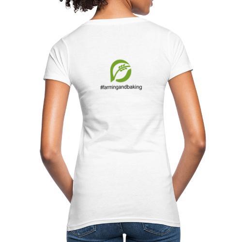 farmingandbaking_logogruen - Frauen Bio-T-Shirt