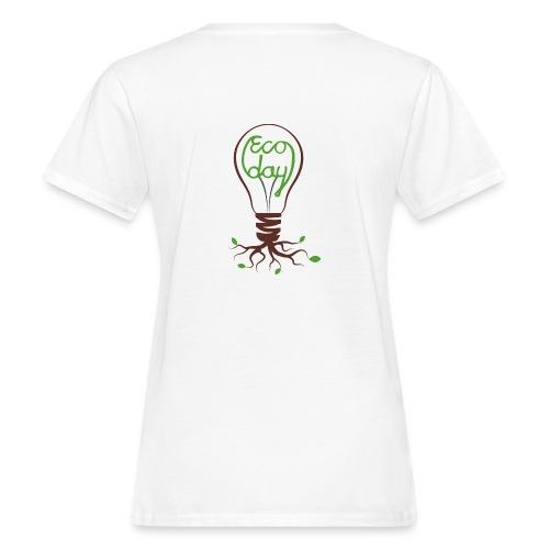 Logotyp Ecoday genomskinlig för ljus bakgrund png - Ekologisk T-shirt dam