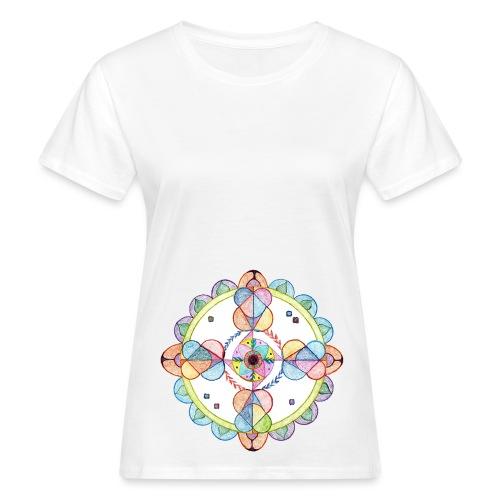 Creativity Harmony - T-shirt ecologica da donna