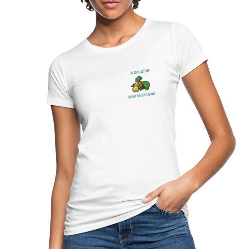 Becqueter green - AW20/21 - T-shirt bio Femme