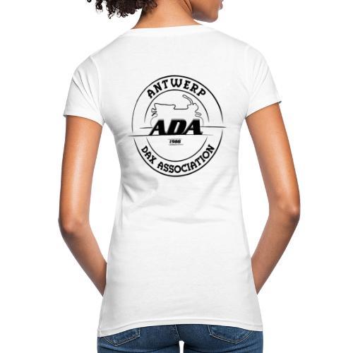 ADA DAX Logo Groot Zwart - Vrouwen Bio-T-shirt