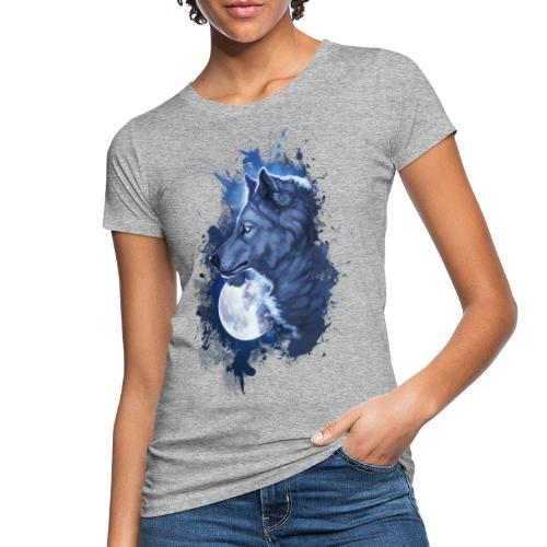 wolf moon - Camiseta ecológica mujer