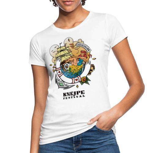 Knejpe Festival - stor tattoo med hvid tekst - Organic damer