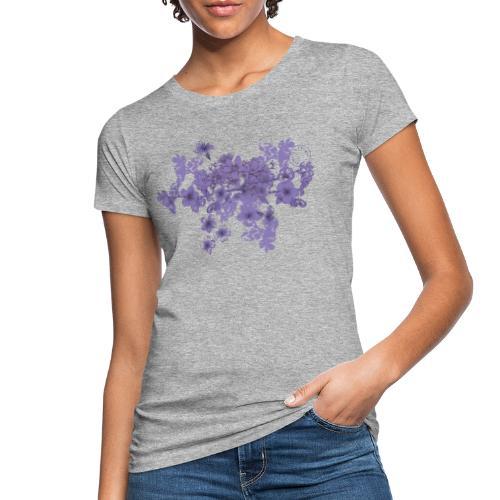 Purple bunch of flowers - Women - Women's Organic T-Shirt