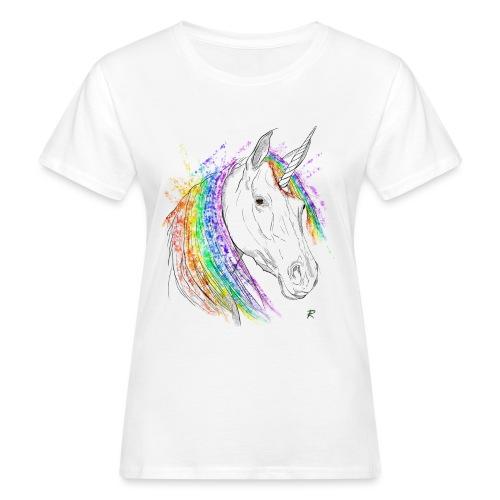 Unicorno - T-shirt ecologica da donna