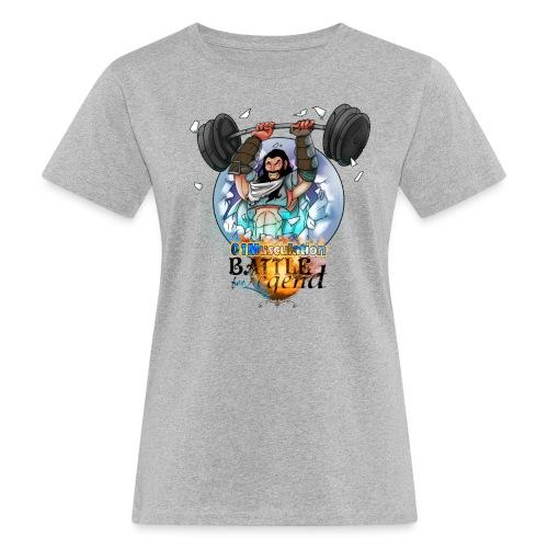 Demi-Géant - Battle for Legend X 01Musculation - T-shirt bio Femme
