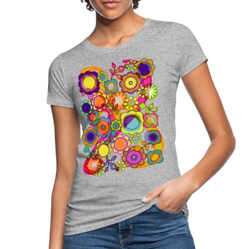 Potere dei fiori - T-shirt ecologica da donna