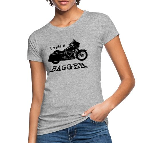 I ride a bagger - sort - Organic damer