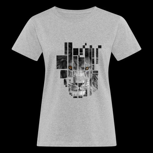 Pixel Lion Tattoo Inspire - Women's Organic T-Shirt