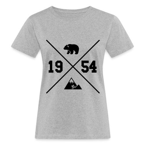 Karhuvuori -baseballhuppari - Naisten luonnonmukainen t-paita