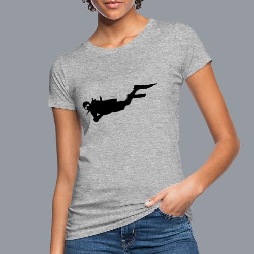 Taucher - Frauen Bio-T-Shirt