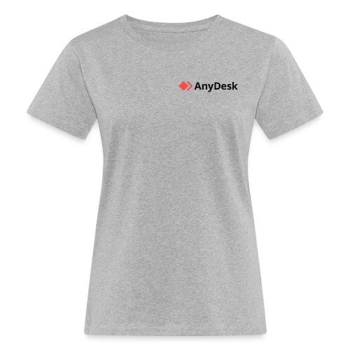 AnyDesk - logo black - Frauen Bio-T-Shirt