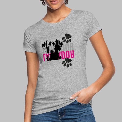 Labrador Kopf Pfoten - Frauen Bio-T-Shirt