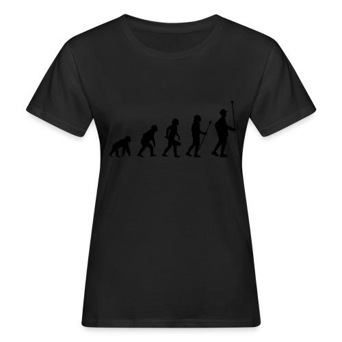 Stabführer Evolution - Frauen Bio-T-Shirt