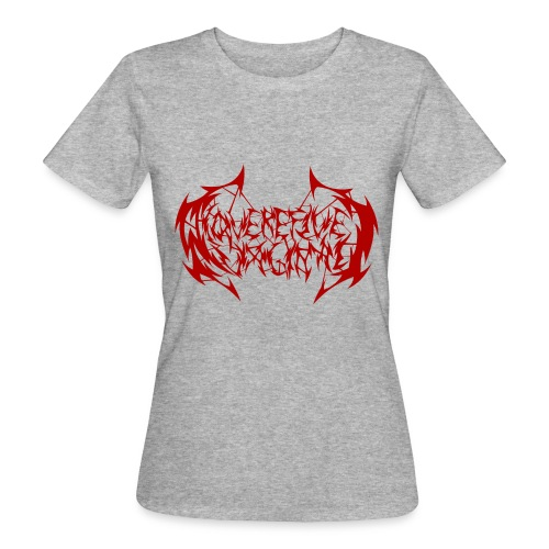 ARV Logo rosso - T-shirt ecologica da donna